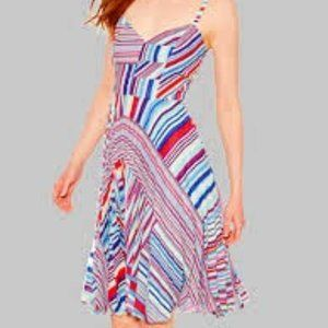NWT PARKER Magna Sleeveless Striped Dress Size 8